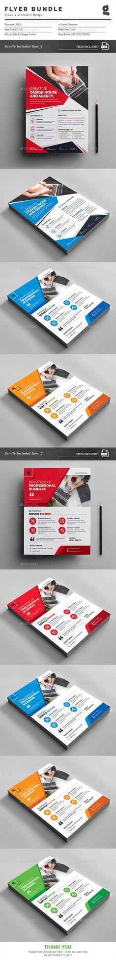 Flyer Templates PSD Bundle. Download here: https://graphicriver.net/item/flyer-bundle-2-in-1/17144645?ref=ksioks