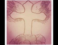 A cross dedicated to my grandma