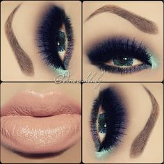 Flawless Smokey Eye♡