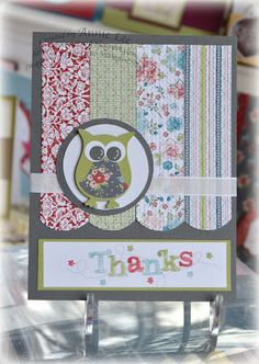 Love to Make Cards: Twittering Owl