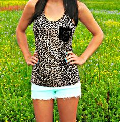 Love me some cheetah print!