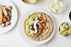 loaded pita bread