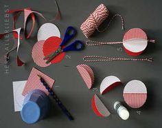 Fabriquer boules déco Noël matériel nécessaire