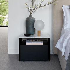 Bedside, Nightstand, King Furniture, Archetypes, Minimal Design, Minimalism, Bedroom, Table, Home Decor