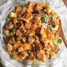 cheesy chicken broccoli cadderole recipe