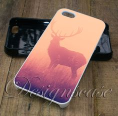 Deer - iPhone 6/6S Case, iPhone 5/5S Case, iPhone 5C Case,iPhone 4/4s plus Samsung Galaxy S4 S5 S6 Edge Cases - designscases.com
