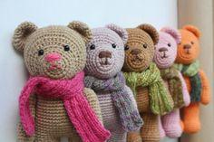 PATTERN  Amigurumi Crochet nounours Pdf tutoriel  par TinyAmigurumi, $5.00