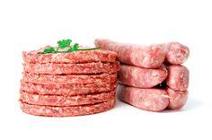 Condimentos para hamburguesas y longanizas