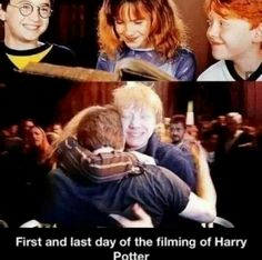 They will always be Harry, Ron and Hermione to me no one else and I will miss them forever