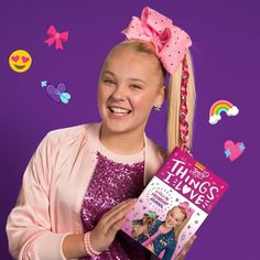 new book is made for sharing with your What are some of your favorite things? Girl Toys, Toys For Girls, Jojo Yes, Jojo Siwa Age, Dance Moms Season 5, Your Favorite, Favorite Things, Girls In Love, My Love