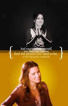 One Tree Hill - Brooke Davis (Sophia Bush) Best Tv Shows, Best Shows Ever, Movies And Tv Shows, Peyton Sawyer, Indiana Pacers, Tv Show Quotes, Movie Quotes, Brooke Davis Quotes, One Tree Hill Brooke