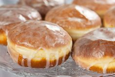 Pączki | Donuts Polish Recipes, Polish Food, Pumpkin Cheesecake, Doughnuts, Nutella, Curry, Muffin, Good Food, Brunch