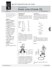 Psychomotricité (8) / Chaise