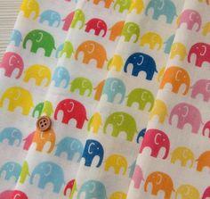 Elephant japanese fabric