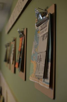 I love travel-inspired decor, maybe this idea might look cool