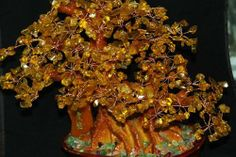 Дерево счастья из цитрина