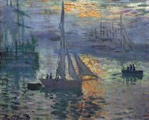 Sunrise, The Sea by Claude Monet