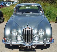 1965C Jaguar 3.4S Type Auto Power Steering Silver Grey James Bond SPY reg no