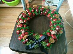 Chestnut Wreath - Grave