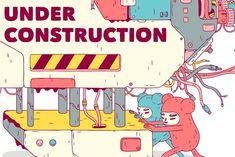 Under Construction Web Site by Cactus Studio on @creativemarket