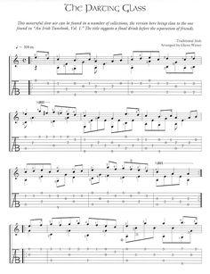 Free Celtic Fingerstyle Guitar Arrangements-The Parting Glass