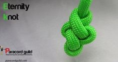 How to tie an eternity knot