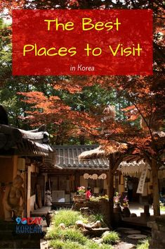 The Best Places to Visit in Korea  Want to travel in Korea? Here are some great spots to check out!  #90daykorean #visitkorea #learnkorean #speakkorean  Repin if you like traveling in Korea ^^