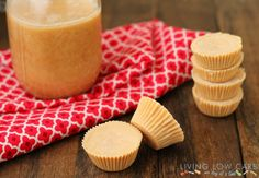Toasted coconut butter cups //