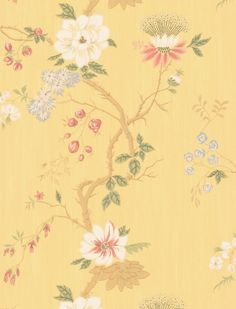 Cole & Son - Collection of Flowers - India Paper 65-1003 VHR