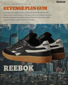 """70c926de0c5115 Bodega on Instagram  """"you may find yourself asking a particular question  about Reebok s Revenge Plus. Wait a minute  isn t that a Club C  Actually"""