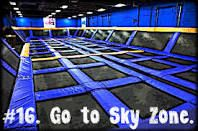 Summer Bucket List 2013: go to skyzone! There's one in Des Moines!