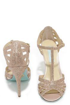 Glitter Dress Sandals