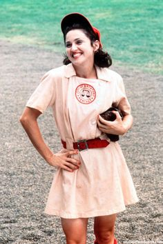 "Madge in ""A League of Their Own"""