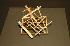 Sculpture with sticks