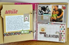 Hello Vacation album ~NEW Sn@p - Simple Stories~ - Two Peas in a Bucket