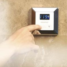 The new Steamist InstaMist TC generator can be added to your existing shower to produce steam in less than a minute. Its stainless steel strip heater allows the generator to preheat the water to 180 degrees. According to the company, a one-minute shower uses five times more water than a 20-minute steam bath, so the steam option conserves energy and lowers electric bills.