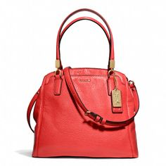 Coach  MADISON MINETTA IN LEATHER - comes in a pretty pale pink and in black, too,