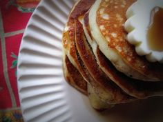 The Best Pancakes Ever? I'll have to test these on husbandpants who is the pancake connoisseur.
