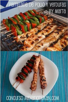 Parrillada de pollo y verduras by Marta