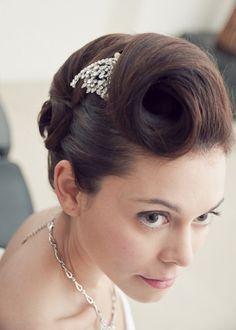 hair on www.fiftieswedding.com