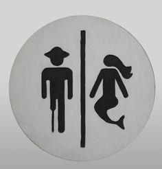 Pirate+/+salle+de+bain+sirène+signe