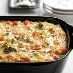 Potato Egg Bake Recipe from Taste of Home -- shared by Rena Charboneau of Gansevoort, New York