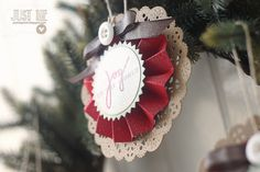 joy paper ornaments