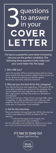 Cover Letter Tips - Outline. How to write a cover letter. #Coverletters