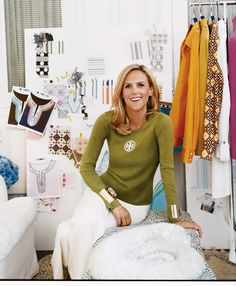Why Tory Burch is a Force of Fashion—and Feminism Tory Burch Outlet, Women In History, Business Fashion, Capsule Wardrobe, Feminism, Style Me, Female, How To Wear, Fashion Design