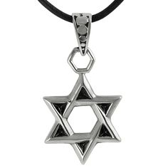 5ec5cd83dd7b Journee Collection Stainless Steel Star of David Necklace