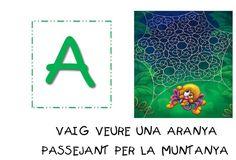 si voleu descarregar de manera gratuïta l'abecedari complet aneu a la nostra pàgina web al menú descargas. Catalan Language, Speech Therapy, Valencia, Literacy, Art For Kids, Symbols, Letters, Album, Teaching