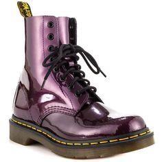 Dr Martens Spectra Purple Boots
