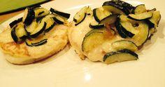Frittelle inglesi con formaggio cheddar e zucchine