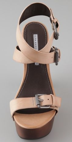Vera Wang Yona Ankle Wrap Sandals